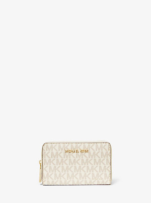 Michael Kors Small Logo and Leather Wallet