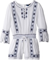 Polo Ralph Lauren Embroidered Romper Girl's Jumpsuit & Rompers One Piece