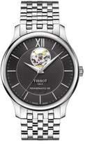 Tissot Tradition Powermatic 80 Open Heart Stainless Steel Bracelet Watch