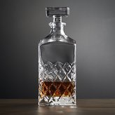 Crate & Barrel Hatch Decanter