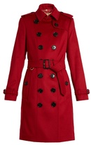Burberry Sandringham long cashmere trench coat