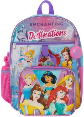 Disney Princess 5-Piece Backpack Set