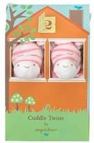 Angel Dear Cuddle Twin Set, Bright Pink Zebra by