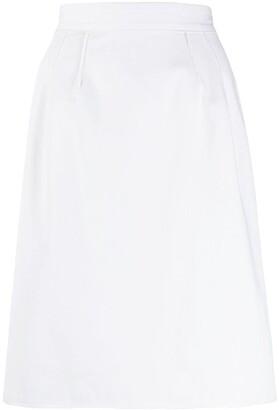 Dolce & Gabbana Pre-Owned 1990s raised seam skirt