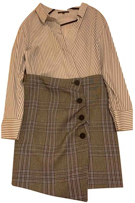 Maje Fall Winter 2019 Grey Cotton Dresses