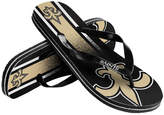 Forever Collectibles New Orleans Saints Gradient Big Logo Flip Flops