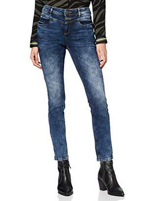 Street One Women's 372758 York Slim Fit Jeans,W29/L30 (Size: 29)