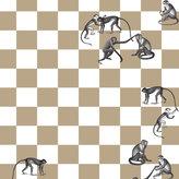 Fornasetti Checkmate Wallpaper Panels - 82/21033