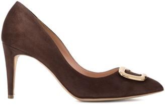 Rupert Sanderson embellished heeled pumps