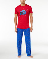 Family Pajamas Men's Super Dad Pajama Set, Only at Macy's