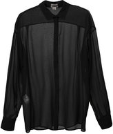 Giambattista Valli sheer classic shirt - women - Silk - 40