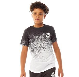 DFND London Boys Dust T-Shirt Black/White