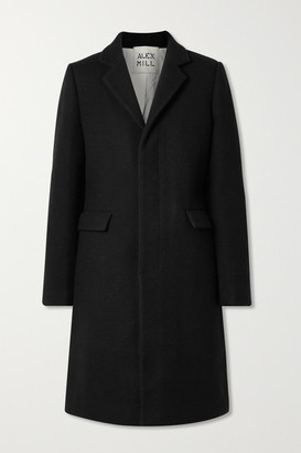 Alex Mill Brittany Wool-blend Coat - Black