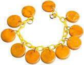One Kings Lane Vintage Chain Link Charm Bracelet