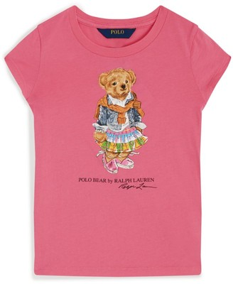 Ralph Lauren Kids Polo Bear T-Shirt (5-6 Years)