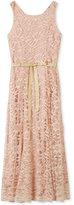 Speechless Maxi Lace Party Dress, Big Girls (7-16)