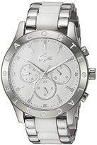 Lacoste Women's 'CHARLOTTE' Quartz Stainless Steel Casual Watch, Color:Silver-Toned (Model: 2000962)