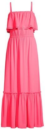 Lilly Pulitzer Adia Ruffle Maxi Dress