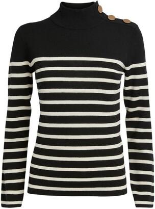 Claudie Pierlot Wool Striped Sweater