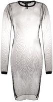 Isabel Benenato tulle knit dress