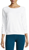 Beyond Yoga Seam You Later Pullover Sweatshirt, White