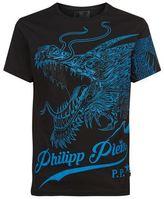 Philipp Plein Swarovski Dragon T-shirt