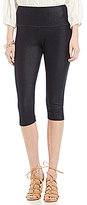 Intro Petite Teri Love the Fit Knit Denim Capri Leggings