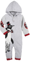 Andy & Evan Christmas Penguin Hooded Coverall, Size 3-24 Months