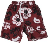 Trunks Unbranded Preschool Wes & Willy Maroon Texas A&M Aggies Floral Swim