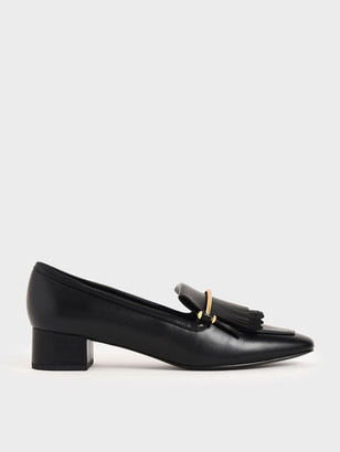 Charles & Keith Fringe Loafers