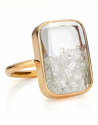 Moritz Glik Rectangular Diamond Shaker Ring