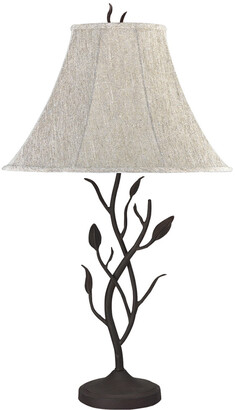 Cal Lighting Calighting 3-Way Hand Forged Iron Table Lamp