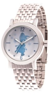 EWatchFactory Disney Frozen 2 Olaf Women's Silver Vintage Alloy Watch 38mm