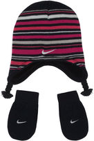 Nike 2-pc. Stripe Cold Weather Set Girls 12-24 Months