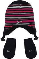 Nike 2-pc. Stripe Cold Weather Set Girls 12-24 Months