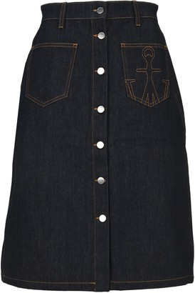 J.W.Anderson A-Line Patch Pocket Skirt