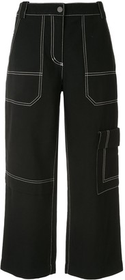 3.1 Phillip Lim Cargo Cropped Jeans