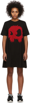 McQ Black and Red Mad Chester Dress