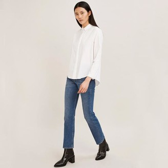 Samsoe & Samsoe Annia Cotton Shirt - L - White