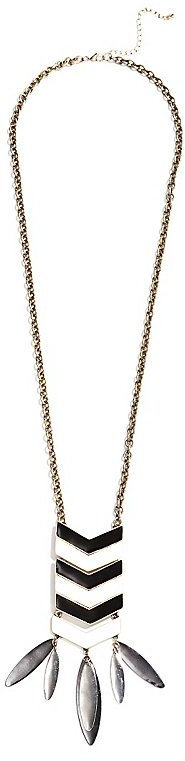 GUESS by Marciano Chevron Pendant Necklace