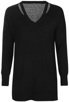 Dex Cut Out Neck Sweater