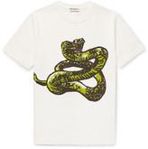 Balenciaga Slim-Fit Printed Cotton-Jersey T-Shirt