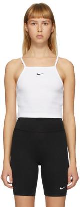 Nike White Sportswear Essential Tank Top