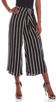 Lush Stripe Wrap Front Pants