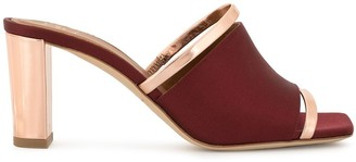 Malone Souliers Mid-Heeled Mules