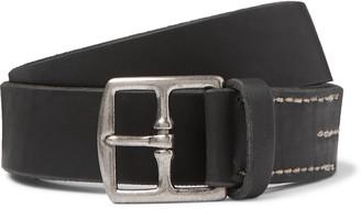 Massimo Alba 3cm Leather Belt