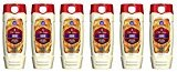 Old Spice Fresher Collection Men's Body Wash, Amber, 16 Fluid Ounce (Pack of 6)