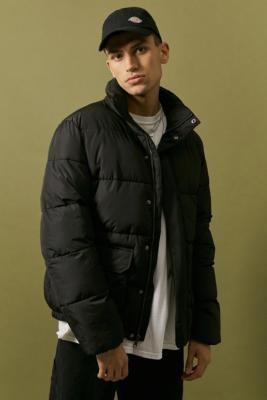 Dickies Black Olaton Puffer Jacket - Black M at Urban Outfitters