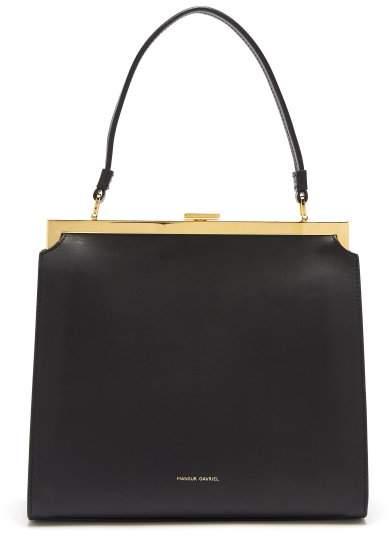 Mansur Gavriel Elegant Leather Bag - Womens - Black
