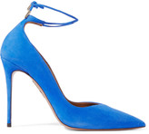 Aquazzura Allure suede pumps